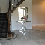 Bordered marble